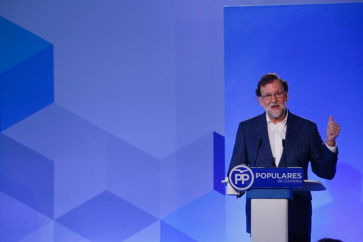 Marbella acogerá el sábado 17 el acto de Mariano Rajoy previo a la Convención Nacional del PP en Sevilla