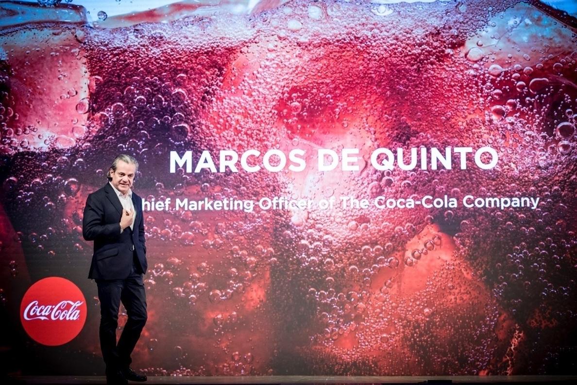 Marcos de Quinto ganó 6,6 millones en 2017 en Coca-Cola, un 13,7% menos