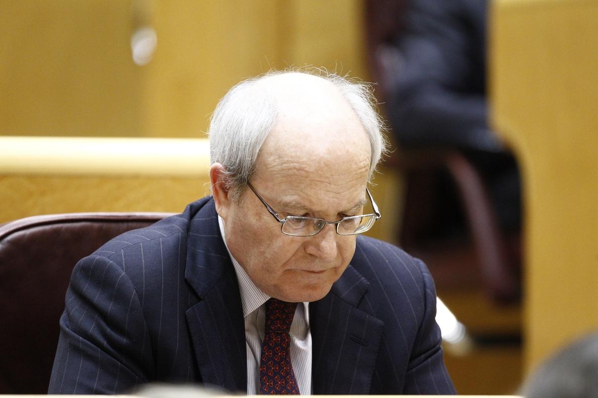 Montilla defiende en el Senado su gestión en el PSC y recuerda al PP que los bancos también les condonaron deuda