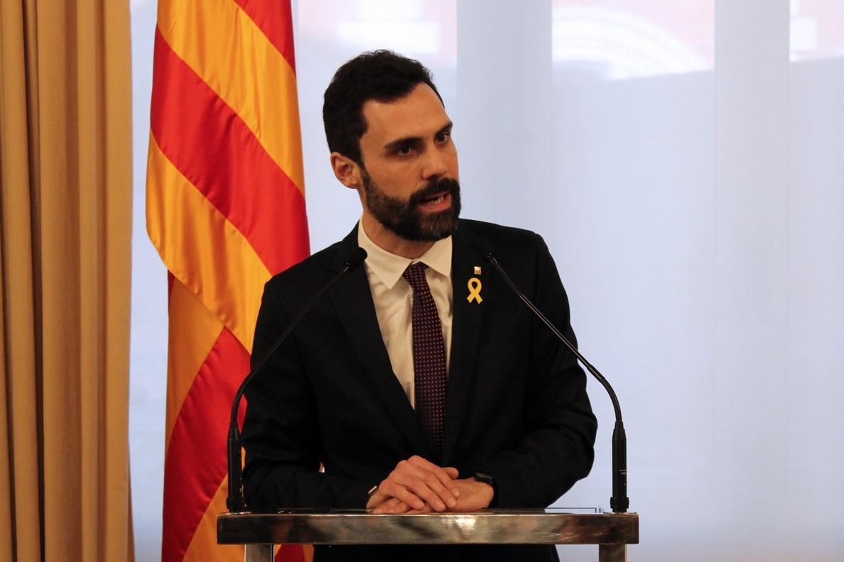 Torrent agotará «todas las vías» y llevará la investidura de Jordi Sànchez a Estrasburgo