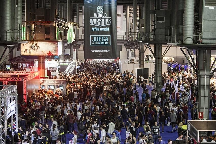 El salón de videojuegos Barcelona Games World celebrará su tercera edición del 29 de noviembre al 2 de diciembre