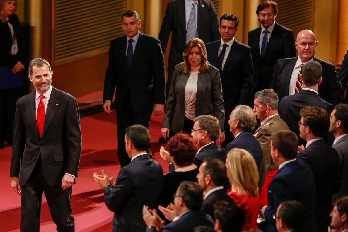 El Rey Felipe VI preside este lunes en Sevilla la apertura del primer evento »Andalucía Digital Week»