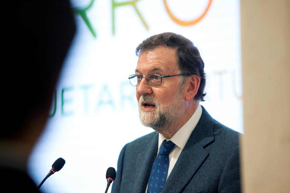 Rajoy reclama en el 11M «memoria y unidad ante la sinrazón de la barbarie»