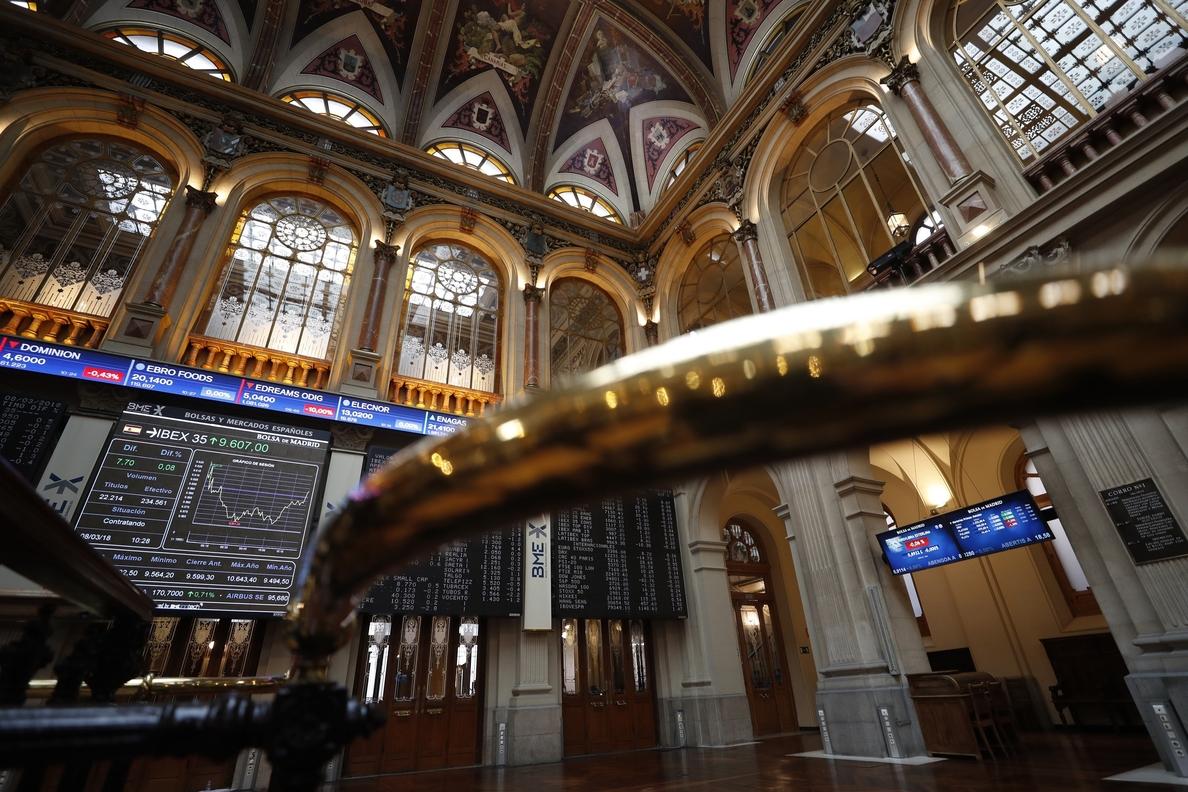 La Bolsa española avanza 0,64 % en la apertura y se asegura los 9.700 puntos