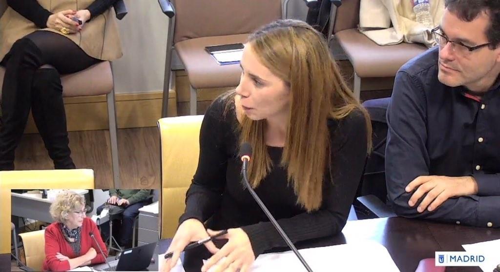 Concejala socialista ve a Carmena como un «mal menor» y la alcaldesa la llama «miserable»