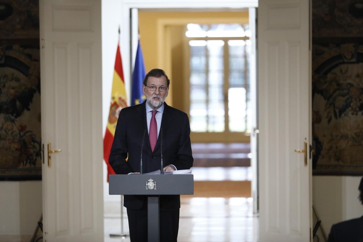 Rajoy planteará en el Congreso «despolitizar» las pensiones