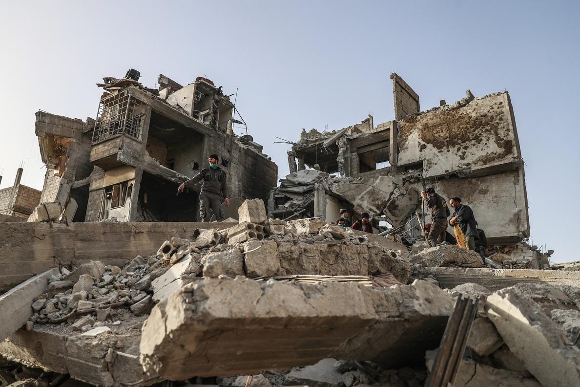 Rebeldes sirios anuncian un acuerdo con Rusia para evacuar heridos de Guta