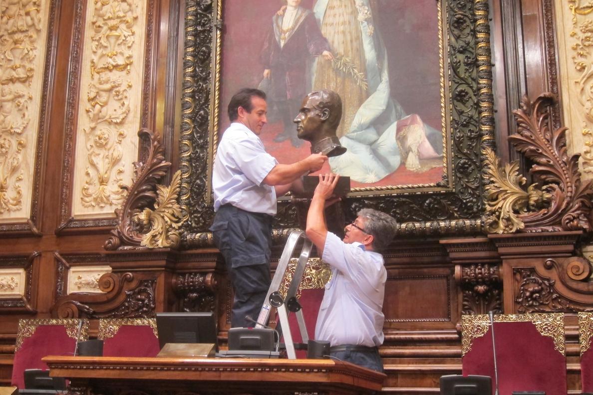 Una sentencia obliga al Ayuntamiento de Barcelona a volver a colocar un retrato del Rey
