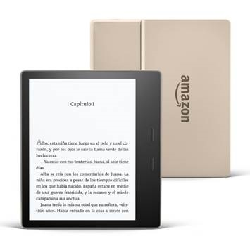 Amazon anuncia un nuevo Kindle Oasis en color Champagne Gold