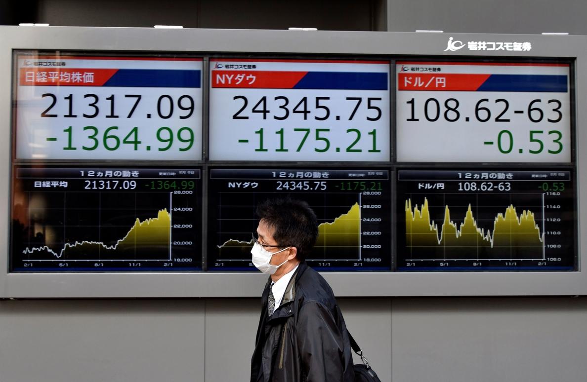 La Bolsa de Tokio baja un 0,34 por ciento en la apertura