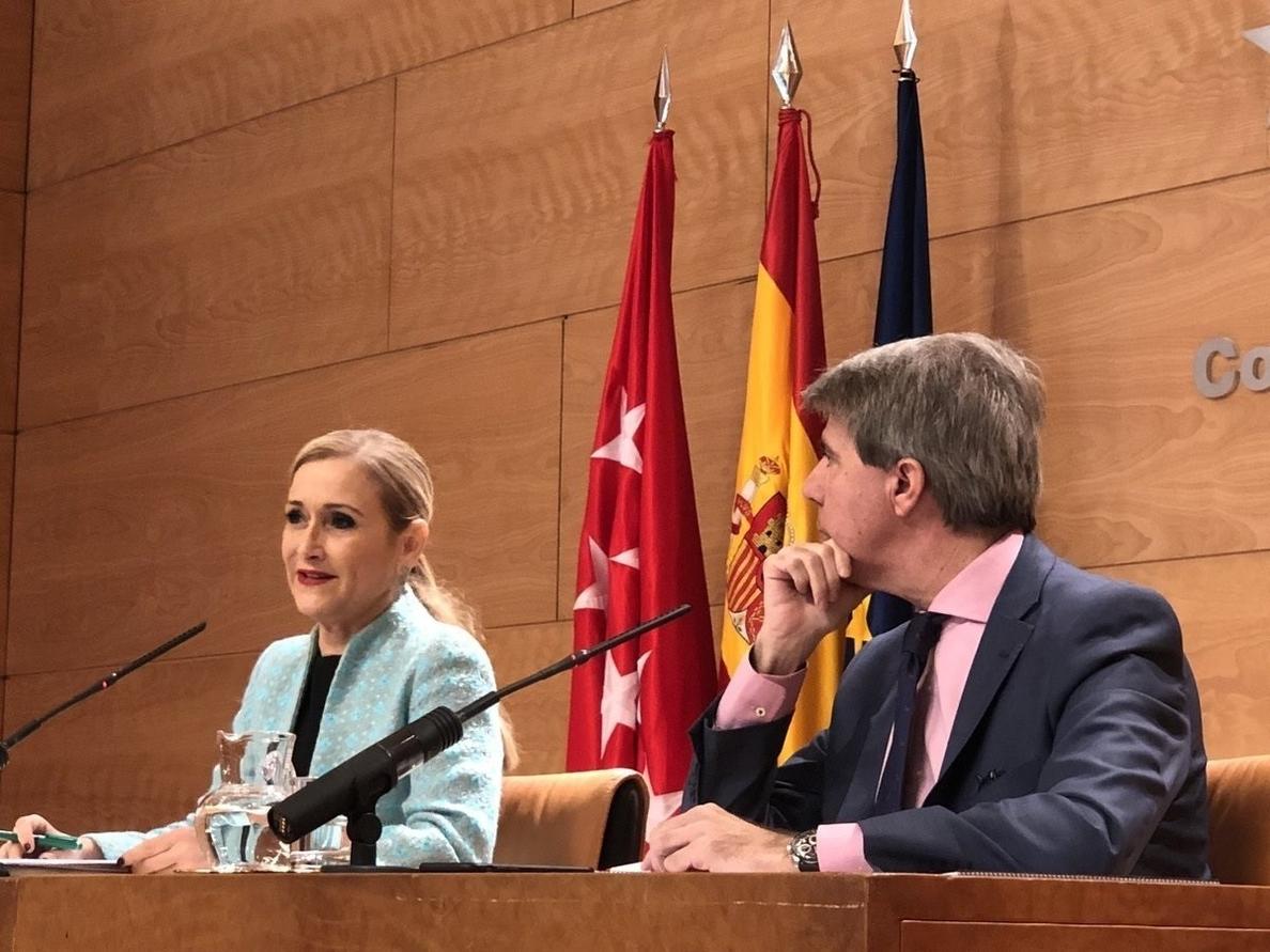 Cifuentes anunciará esta mañana «importantes» medidas fiscales que beneficiarán a todos los madrileños