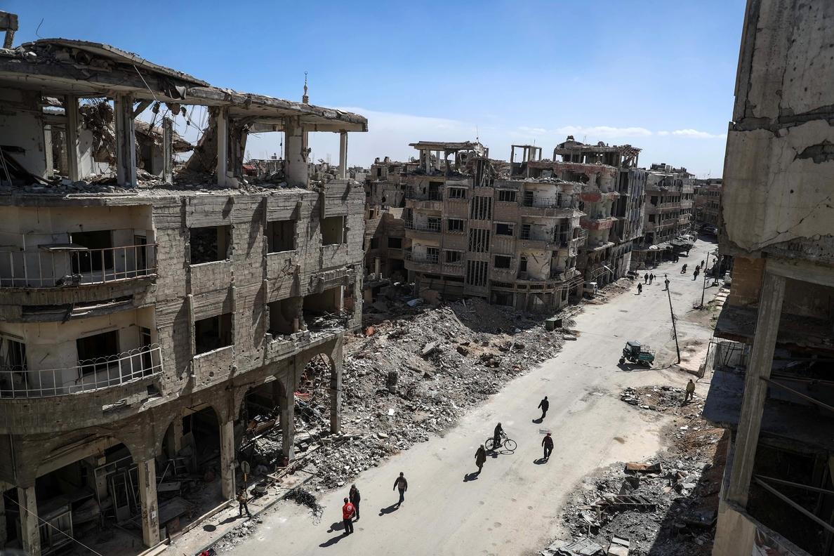 Comienza la evacuación de heridos de Guta Oriental en Siria, según el Observatorio
