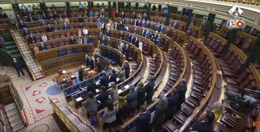 El Congreso guarda un minuto de silencio por Gabriel y en rechazo a «cualquier violencia contra la infancia»