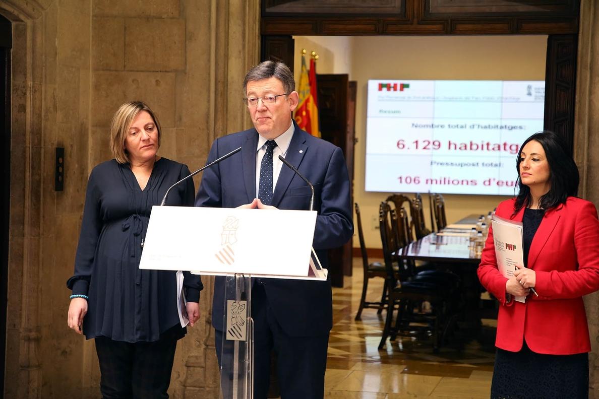 Generalitat valenciana lanza un plan para poner en el mercado más de 6.000 viviendas y ofrecer alquileres «asequibles»