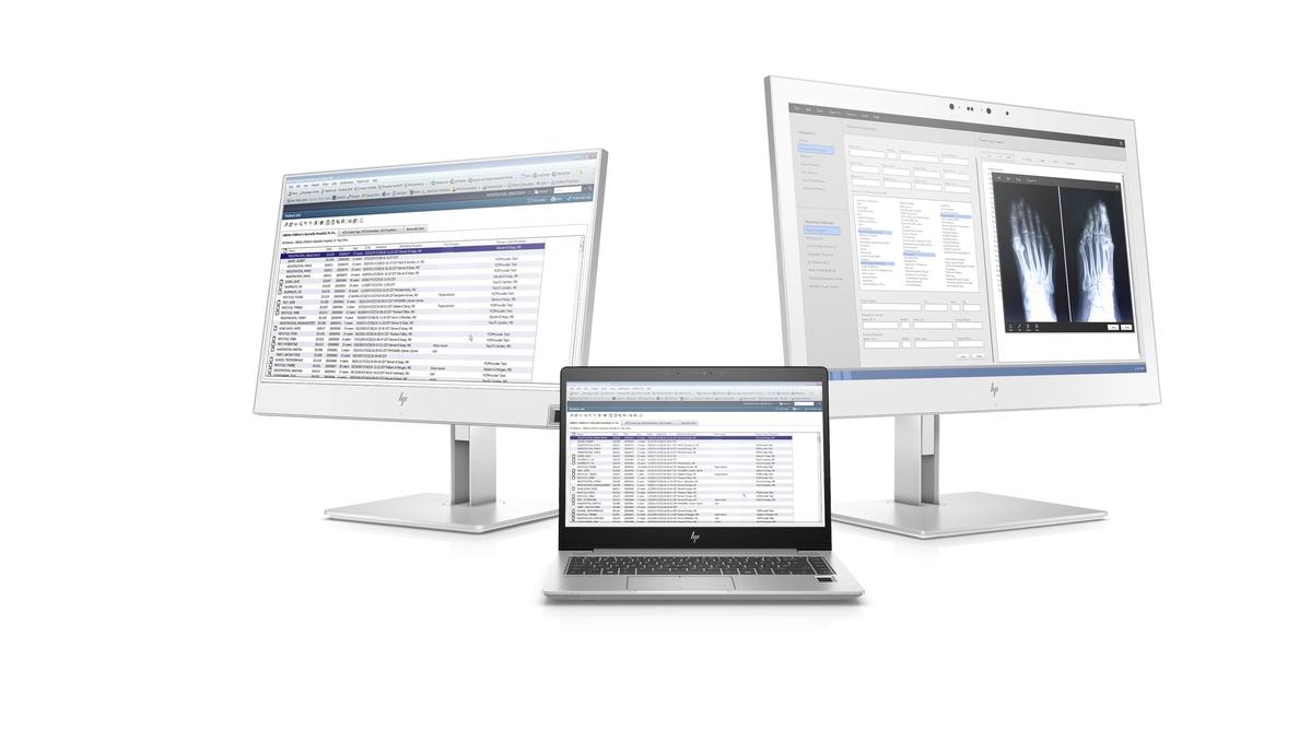 HP presenta sus nuevos equipos para el entorno sanitario, con mejoras para el control médico-paciente