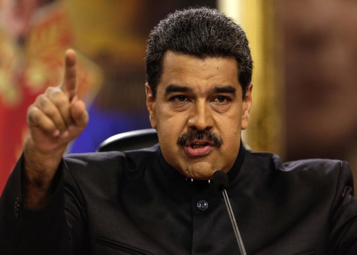 Maduro fustiga «fraudulentos» comicios del domingo en Colombia