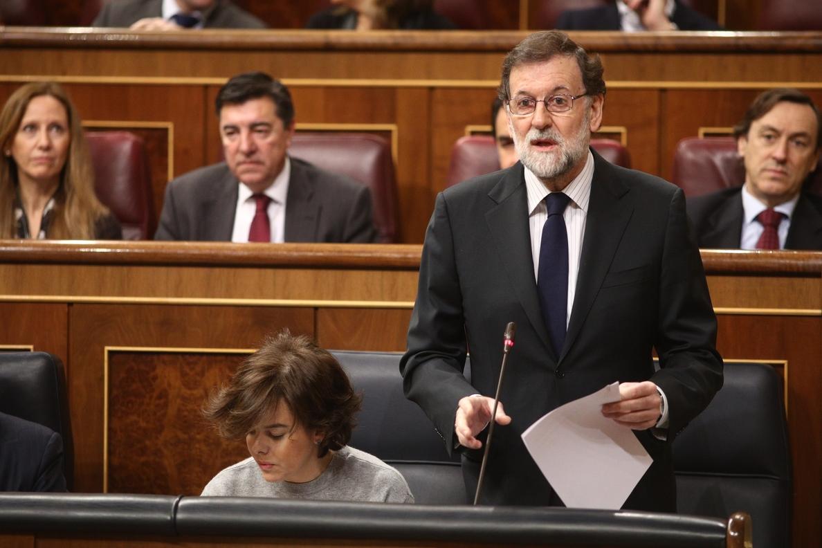 Moncloa dice que Rajoy no planteará mañana «golpes de efecto» ni «ocurrencias» en el debate de las pensiones