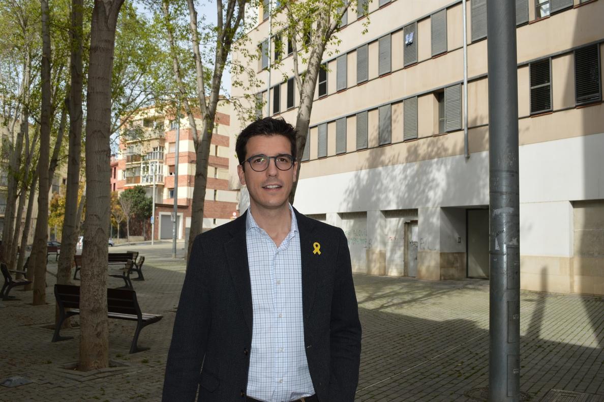 El candidato del PDeCAT a la alcaldía de Lérida plantea a Puigdemont crear una lista transversal para las municipales