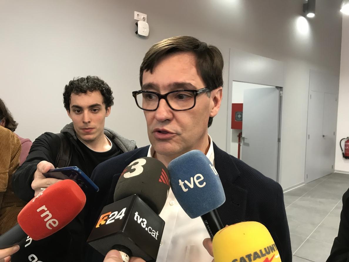 El PSC acata y respeta la decisión de Estrasburgo sobre la quema de fotos del Rey