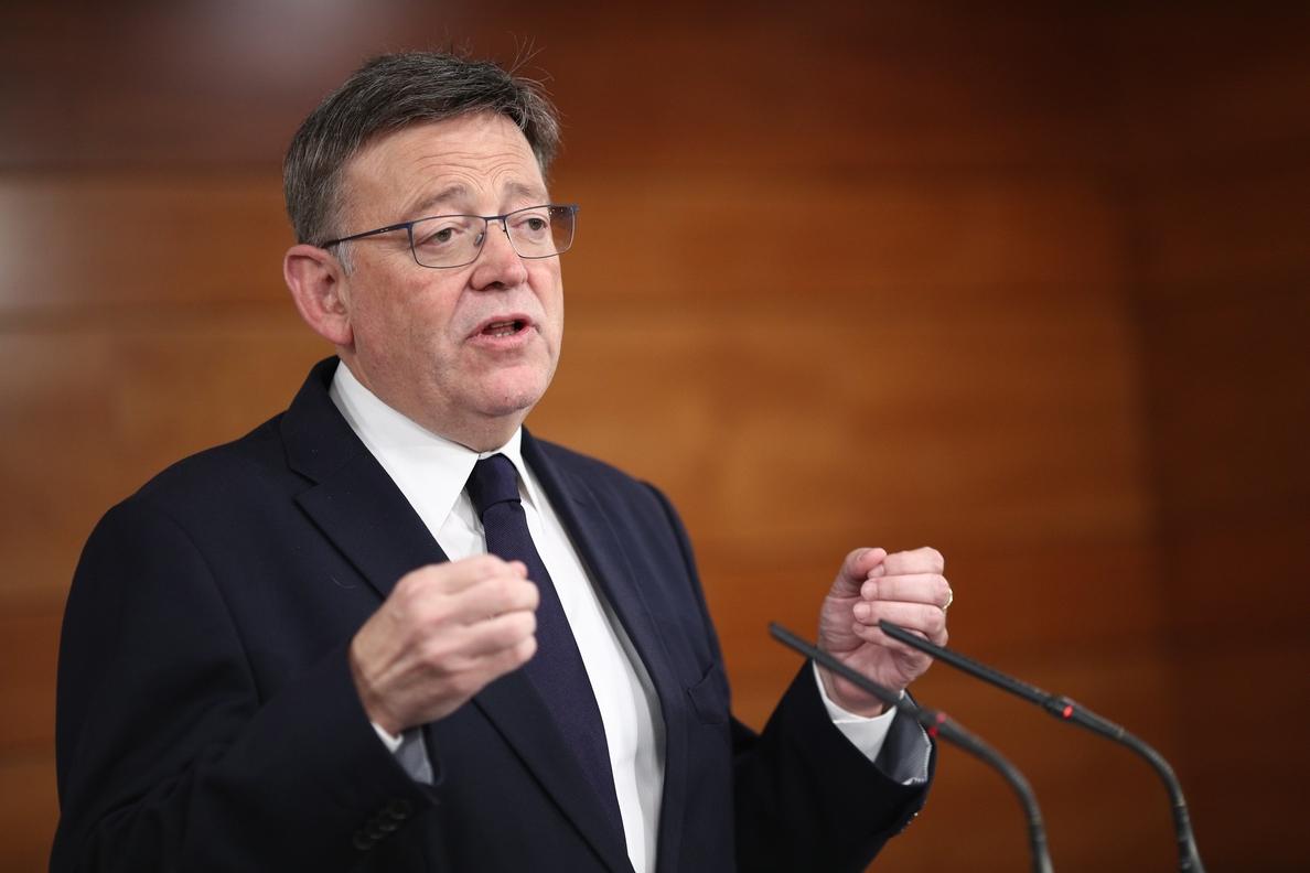 PSOE reitera que el Gobierno debe tomar la iniciativa sobre financiación y aparca la comparecencia de Puig en el Senado