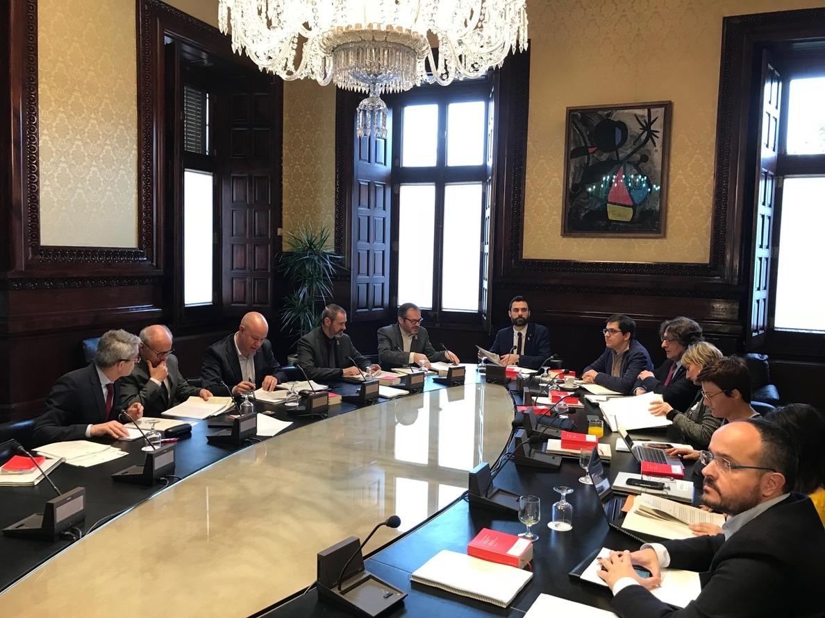 El Parlamento catalán rechaza la propuesta de Cs para que Torrent comparezca en el pleno