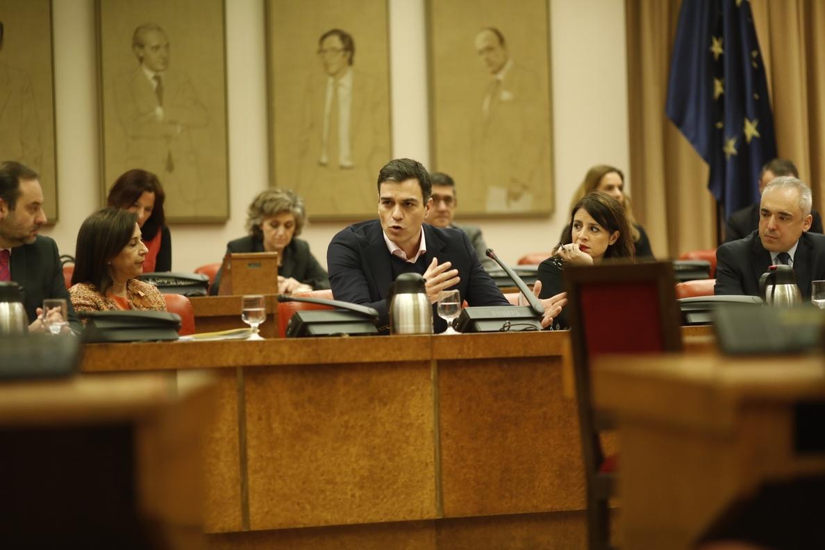 Sánchez cree que a Ciudadanos «se le cayó la careta» el 8M, por criticar la huelga y acudir a la manifestación