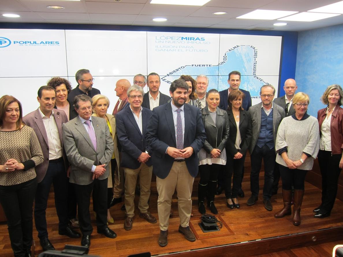 El candidato a presidir el PP de Murcia anuncia que adaptará las cuotas de los afiliados del PP a su situación personal