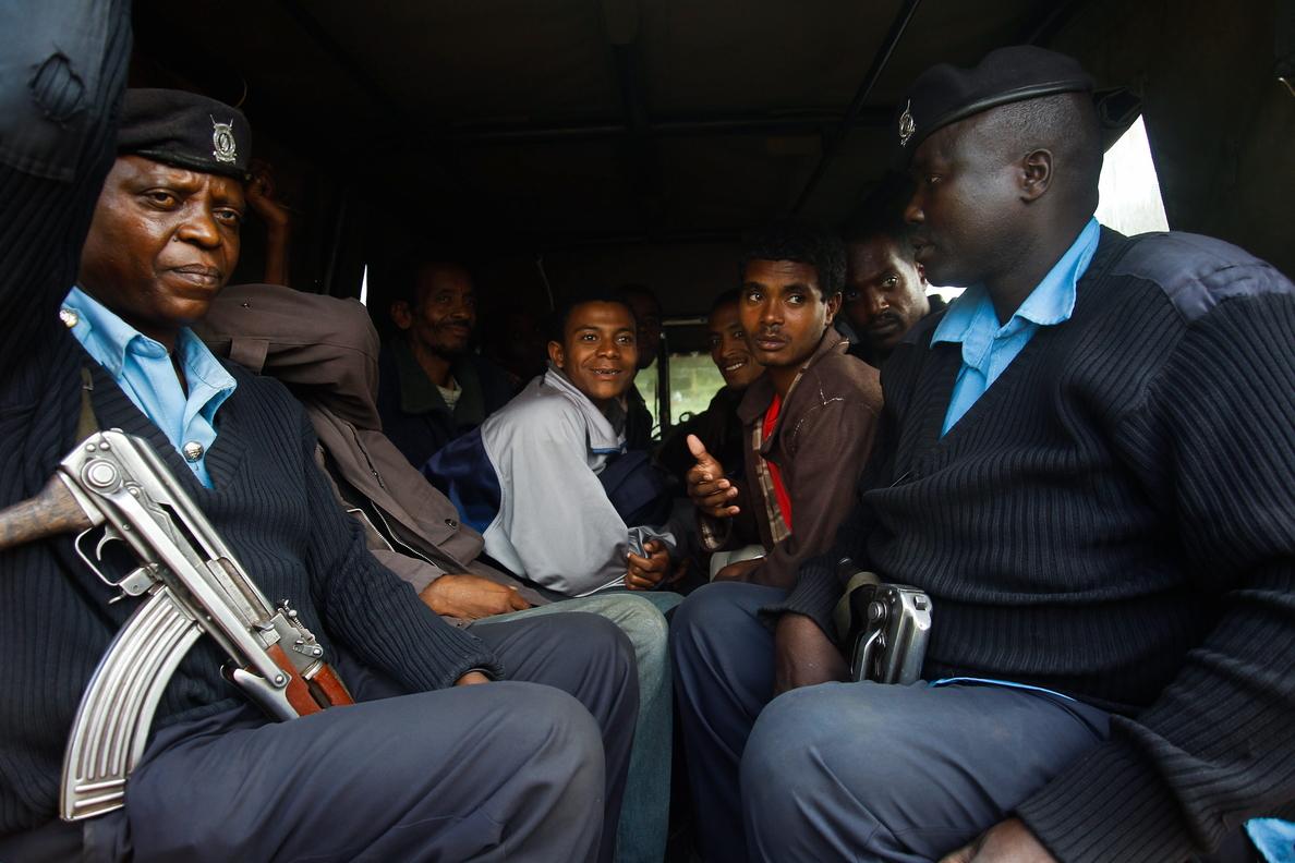 Unos 2.000 etíopes llegan a Kenia en busca de refugio