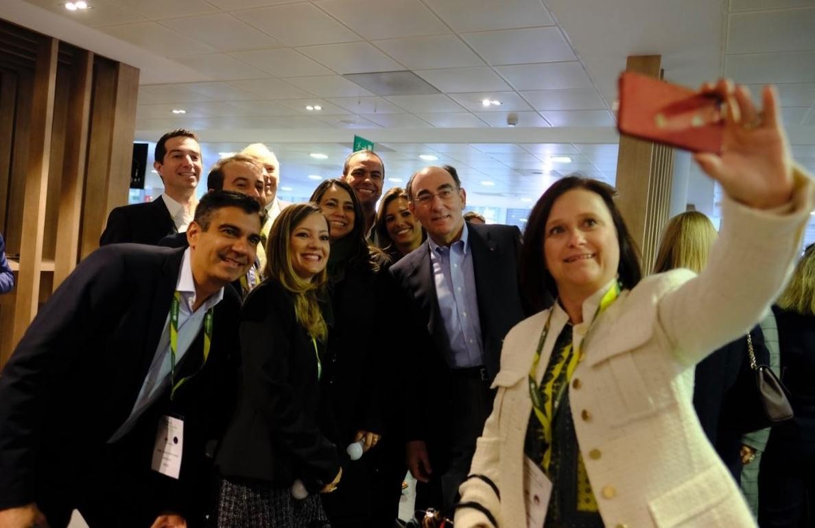 Galán anima a los empleados de Iberdrola a alcanzar los retos del nuevo plan de la compañía a 2022
