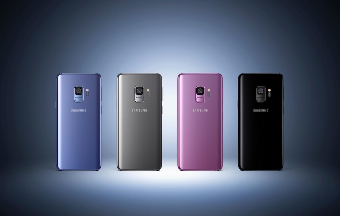 Samsung lanzará en abril ediciones de sus »smartphones Galaxy S9 y S9+ con 256 gigabytes de almacenamiento