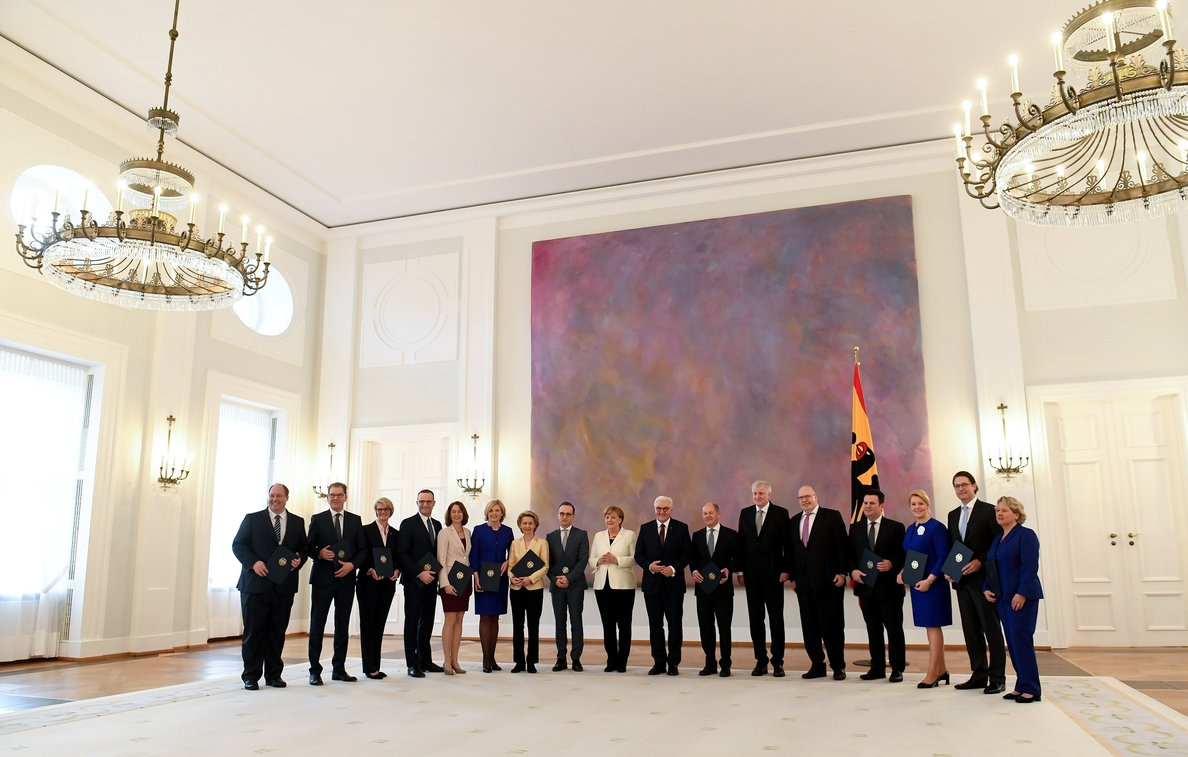 El presidente alemán llama al nuevo Gobierno a defender la democracia