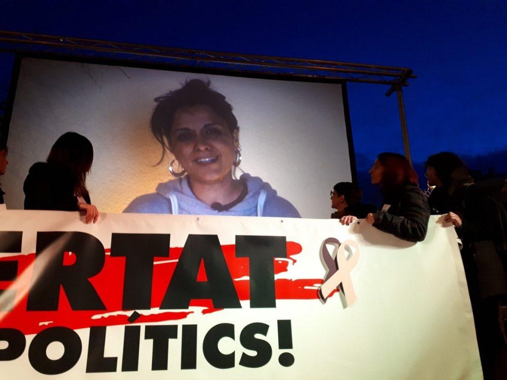 Anna Gabriel (CUP) lamenta el «encarcelamiento injusto» de Sànchez y Cuixart