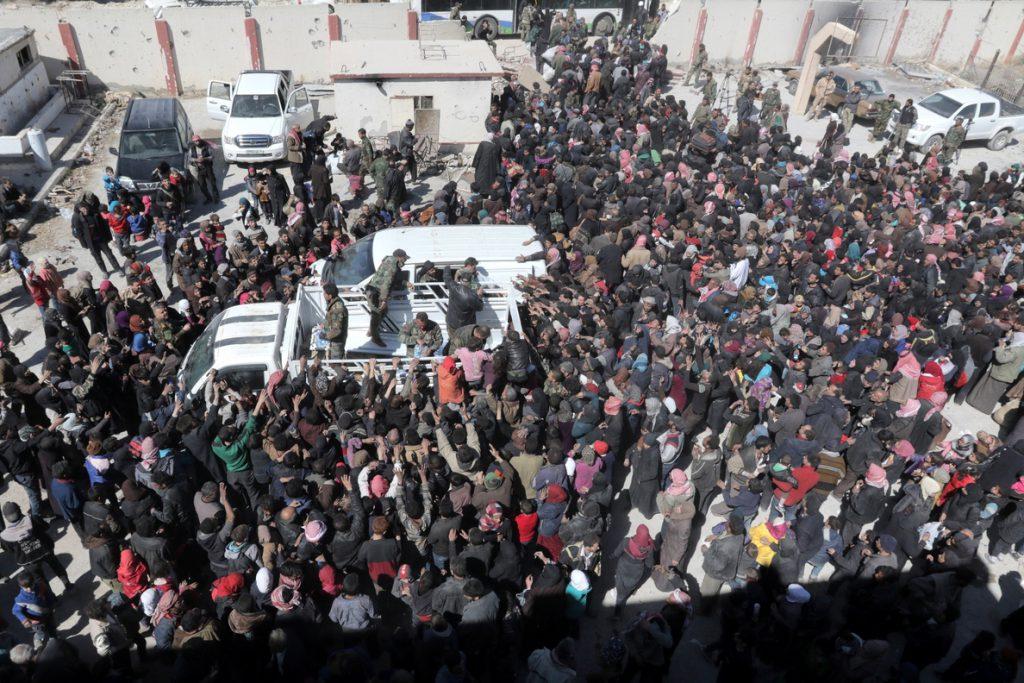 La ONU da la alarma ante la situación de los civiles en Guta Oriental y Afrín