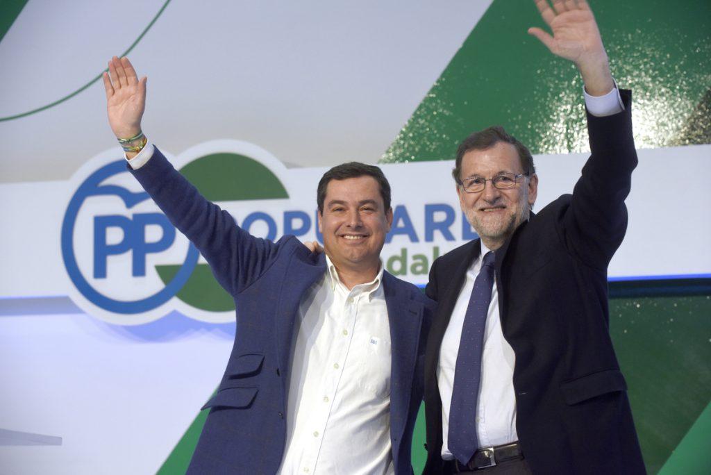 Rajoy abre con los candidatos de Andalucía la precampaña hacia 2019