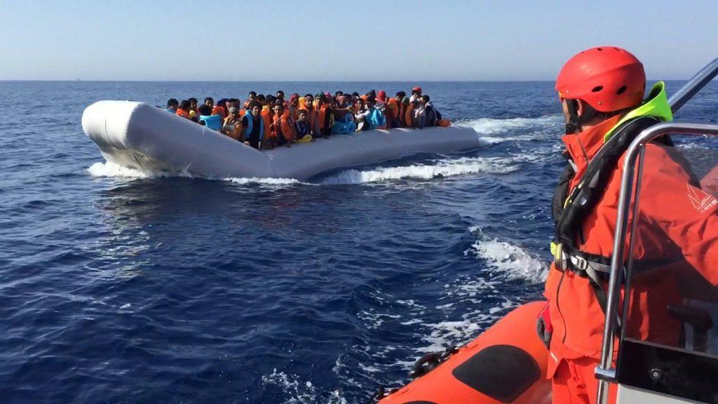 Rescatados 218 migrantes por Proactiva Open Arms en aguas del Mediterráneo central