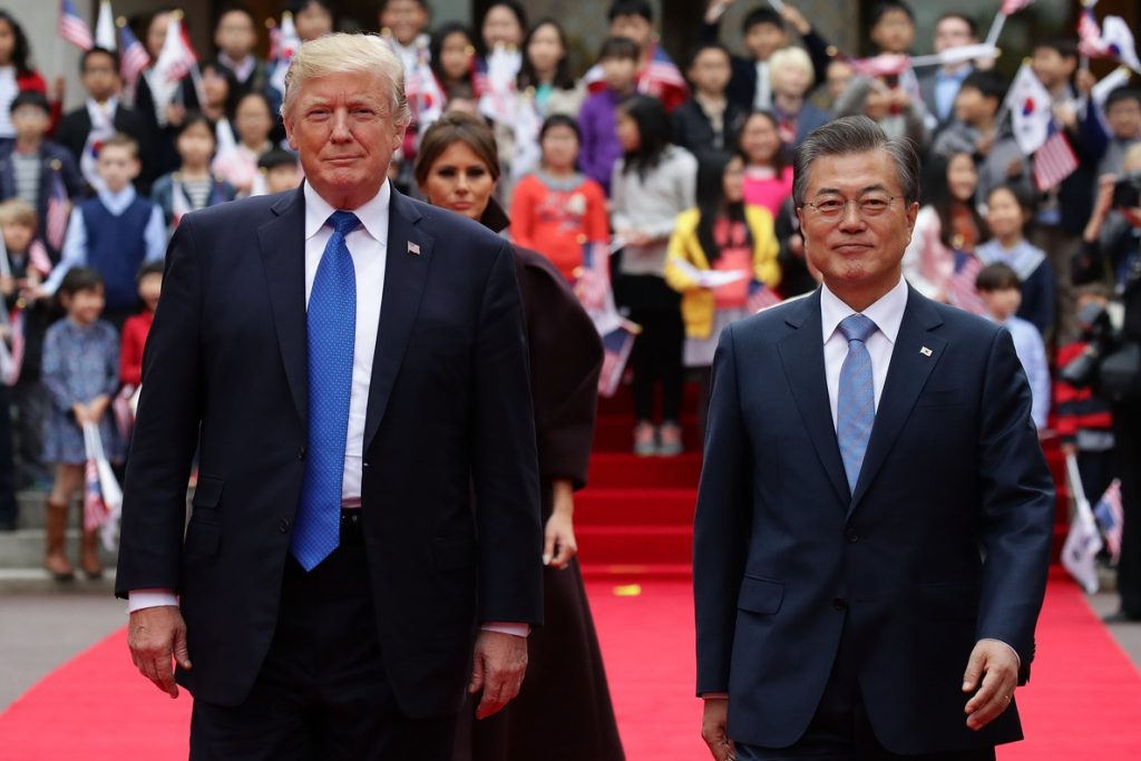 Trump y Moon apuntan a «acciones concretas» para un pacto nuclear con Pionyang