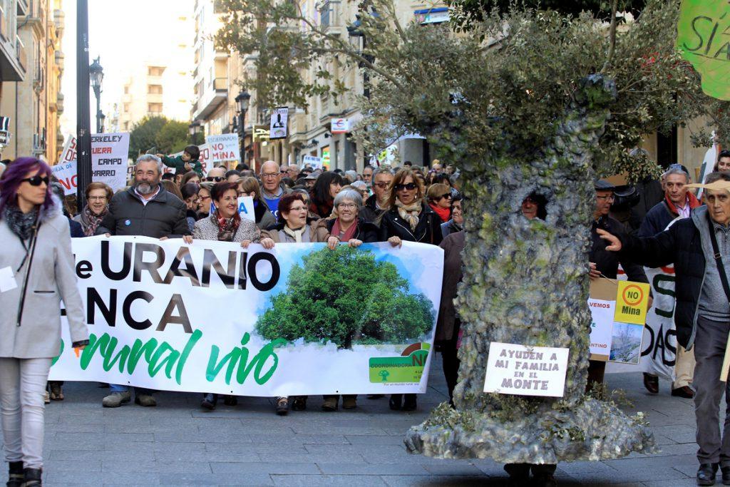 Stop Uranio celebra que Parlamento portugués se implique en mina de Salamanca