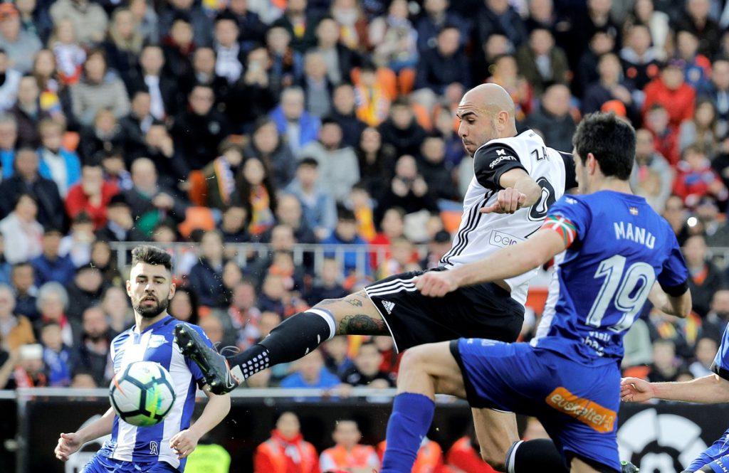 El Valencia se dispara y el descenso se despeja