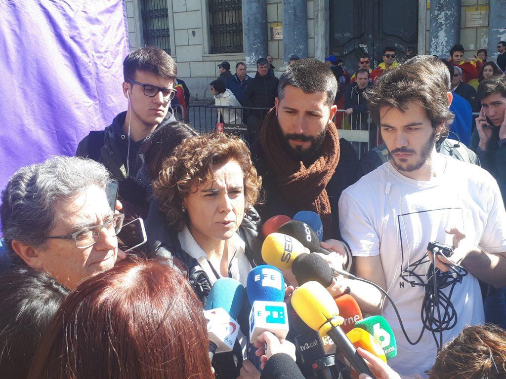 Dolors Montserrat reivindica que el Gobierno ha devuelto la convivencia y la concordia en Cataluña