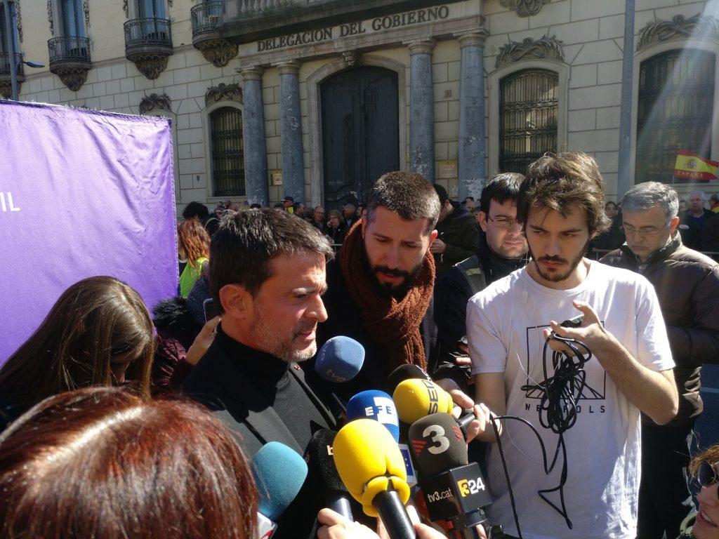 Manuel Valls afirma que el proyecto separatista ha «fracasado» y recuerda que Europa no puede mediar
