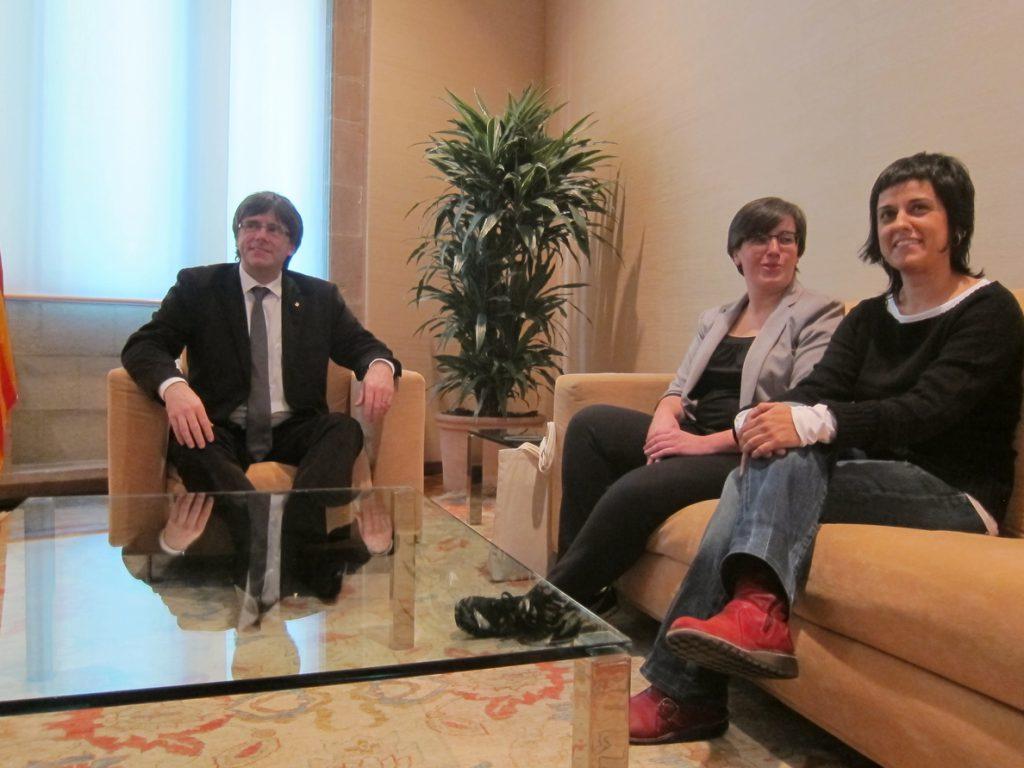 Puigdemont se reunirá este lunes con Gabriel (CUP) en Ginebra para abordar la agenda política actual