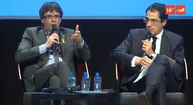 Puigdemont rechaza que la unidad del Estado sea sagrada y critica que sea un «tabú» discutirla