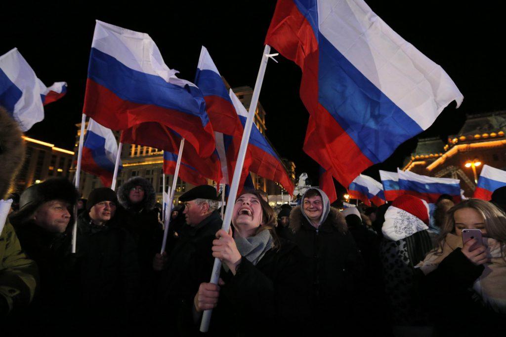 Putin obtiene el 71,97 % de los votos, según los primeros resultados oficiales