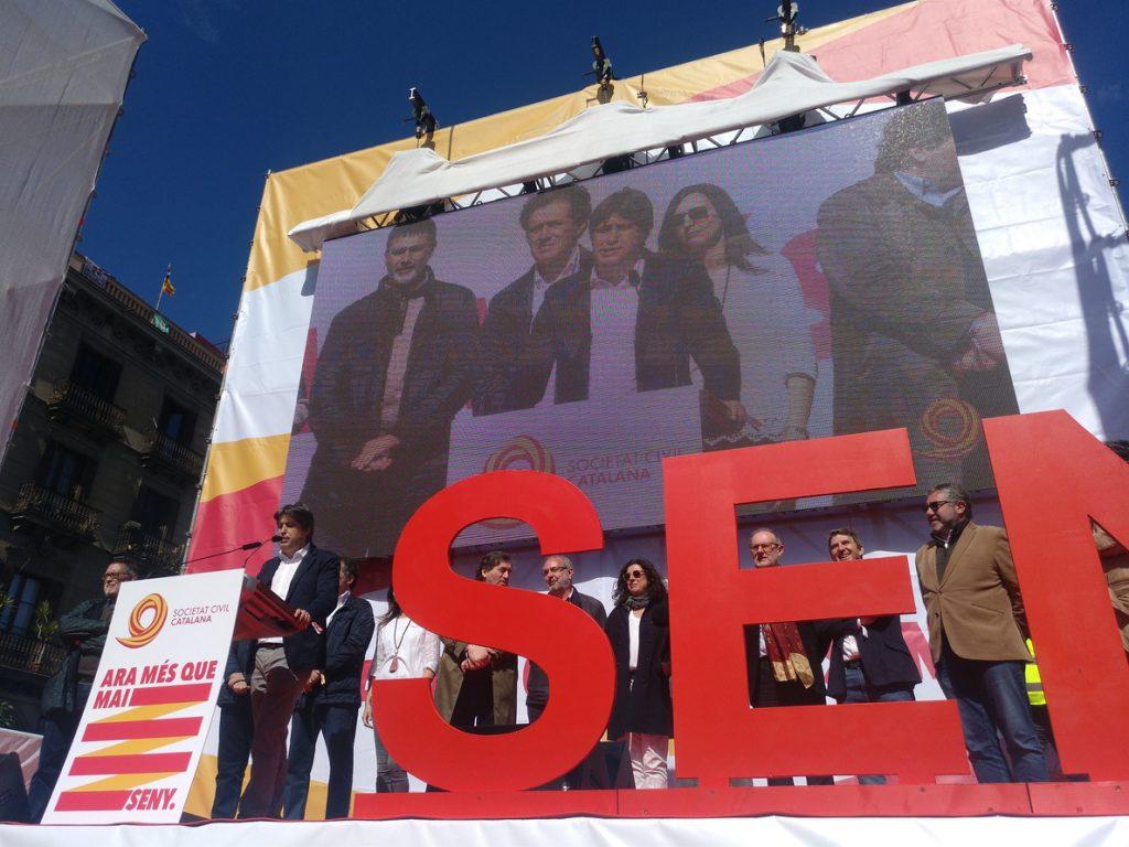 SCC propone 'seny' para recuperar la convivencia y que haya un Gobierno para todos los catalanes