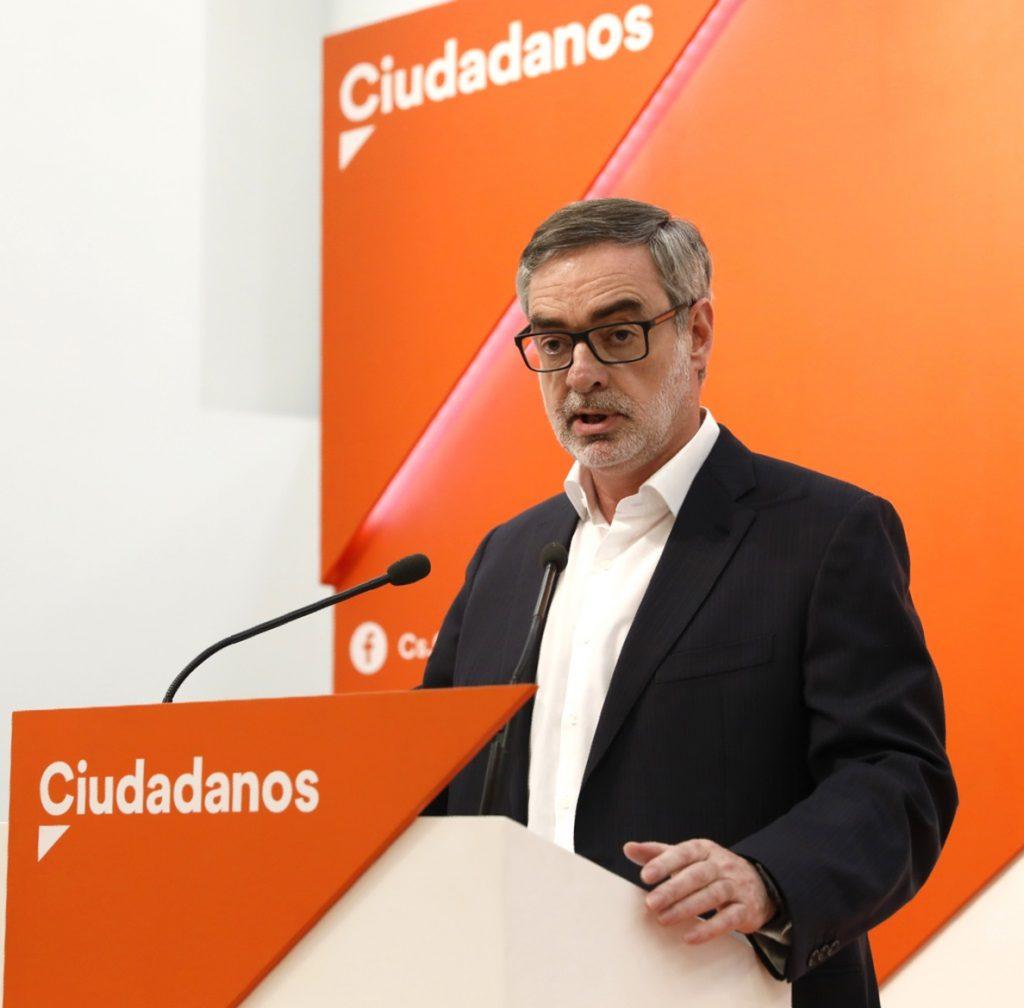 Cs critica que la «gran propuesta» del PSOE sea que el sueldo de los políticos no suba más que las pensiones