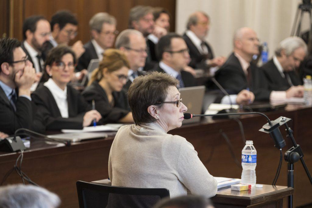 Exconsejera de Hacienda: «Los informes de la Intervención por mi mesa no pasaron»
