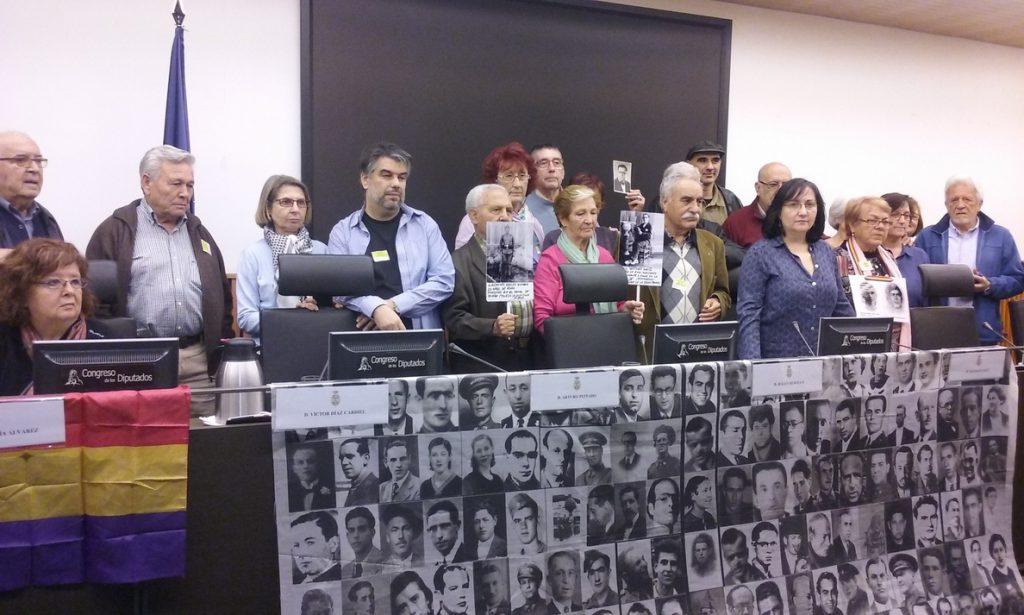 PP, PSOE y Cs impedirán mañana que el Congreso reforme la Ley de Amnistía para juzgar crímenes franquistas