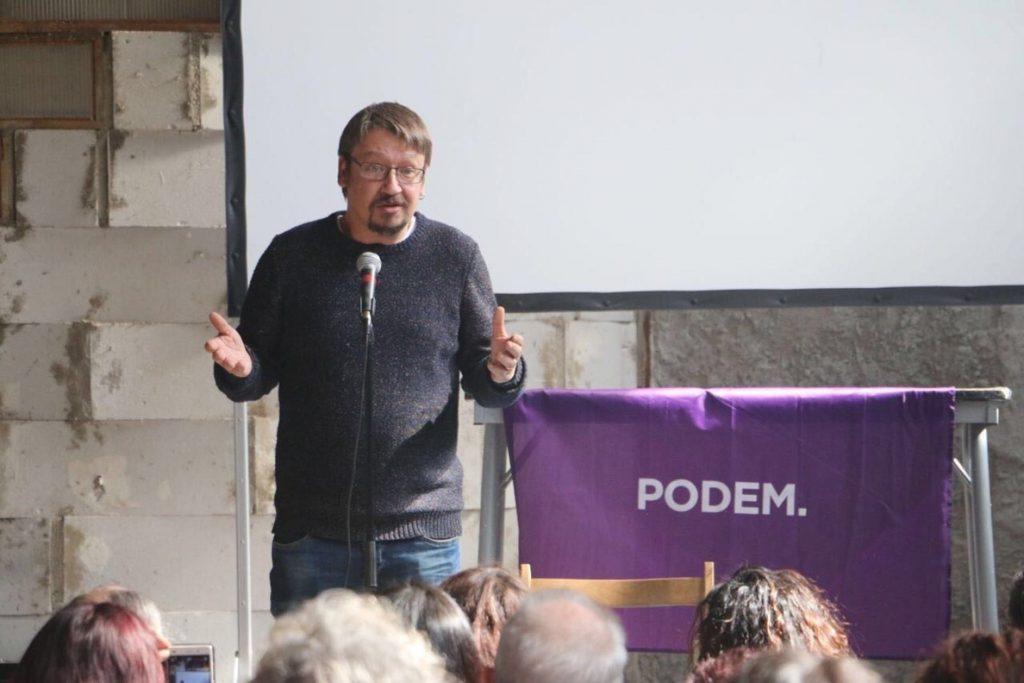 Podem rechaza la impugnación de la candidatura de Domènech presentada por una rival