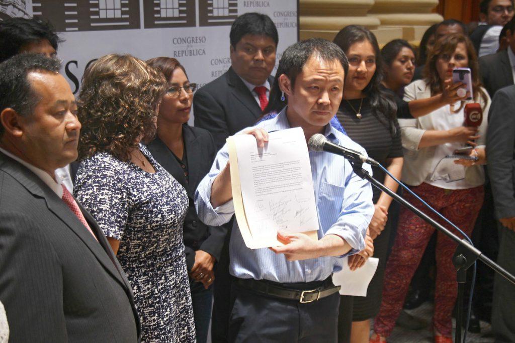 Kenji Fujimori anuncia la creación de Cambio 21, su propio partido político