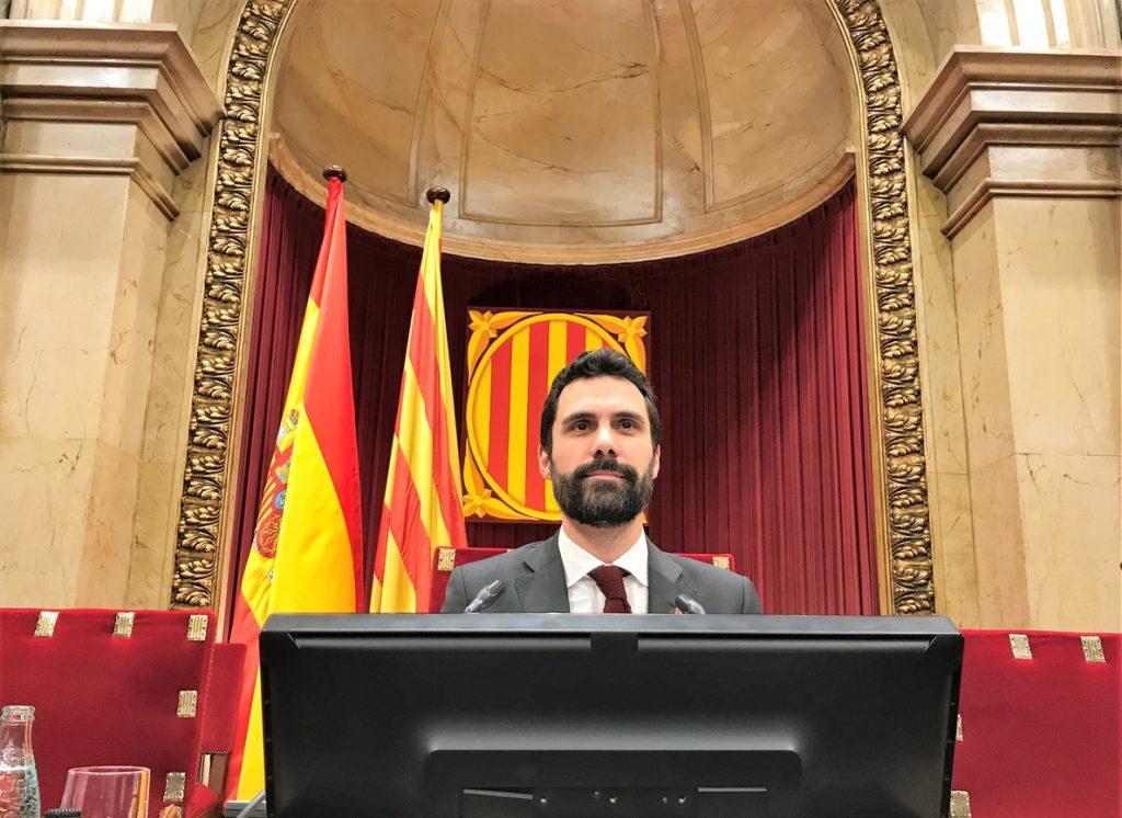El Parlamento catalán se prepara para activar la investidura con la vista puesta en Turull